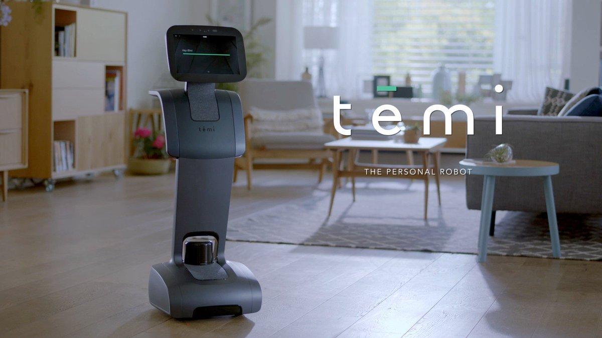 Temi - הרובוט האישי. צילום יחצ