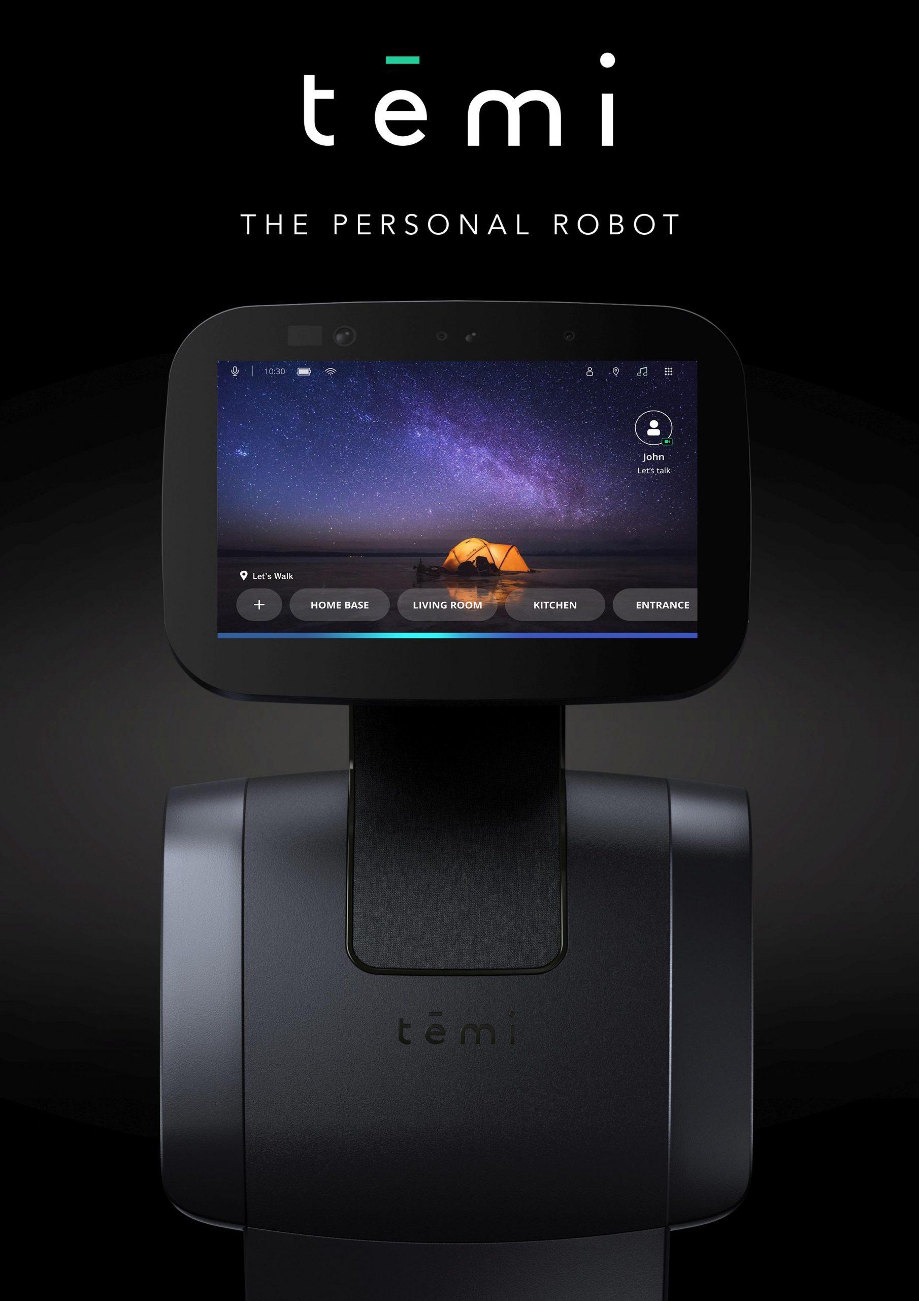 רובוט אישי של TEMI. צילום יחצ