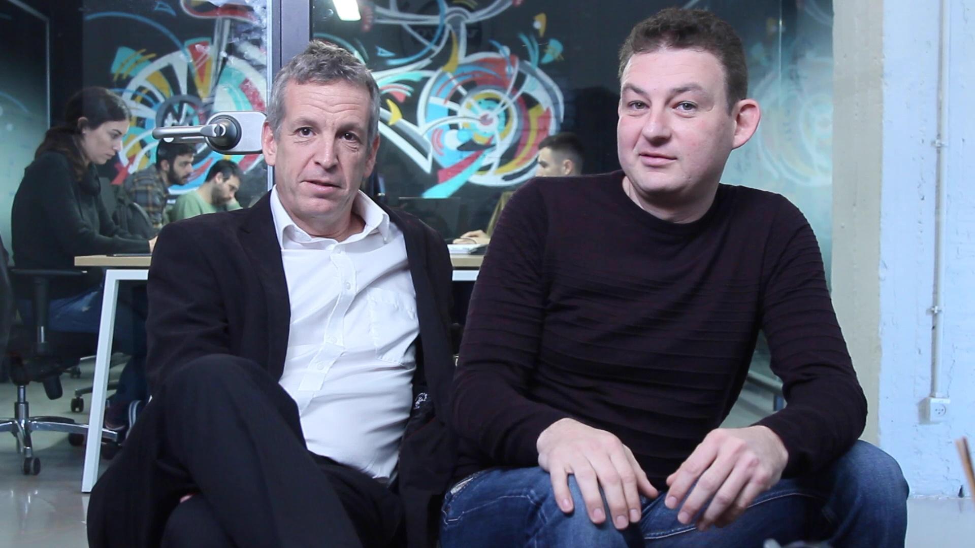 דני צ'רקסקי ואלון סלפק, היזמים של חברת קרדום. צילום-בן רייס