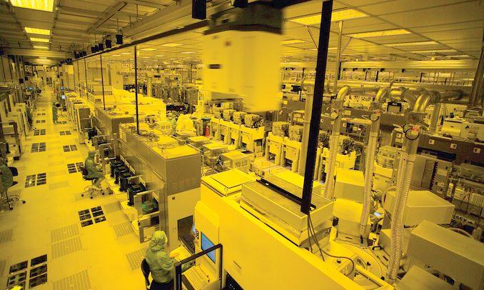 מפעל של TSMC, מראה פנימי. צילום יחצ