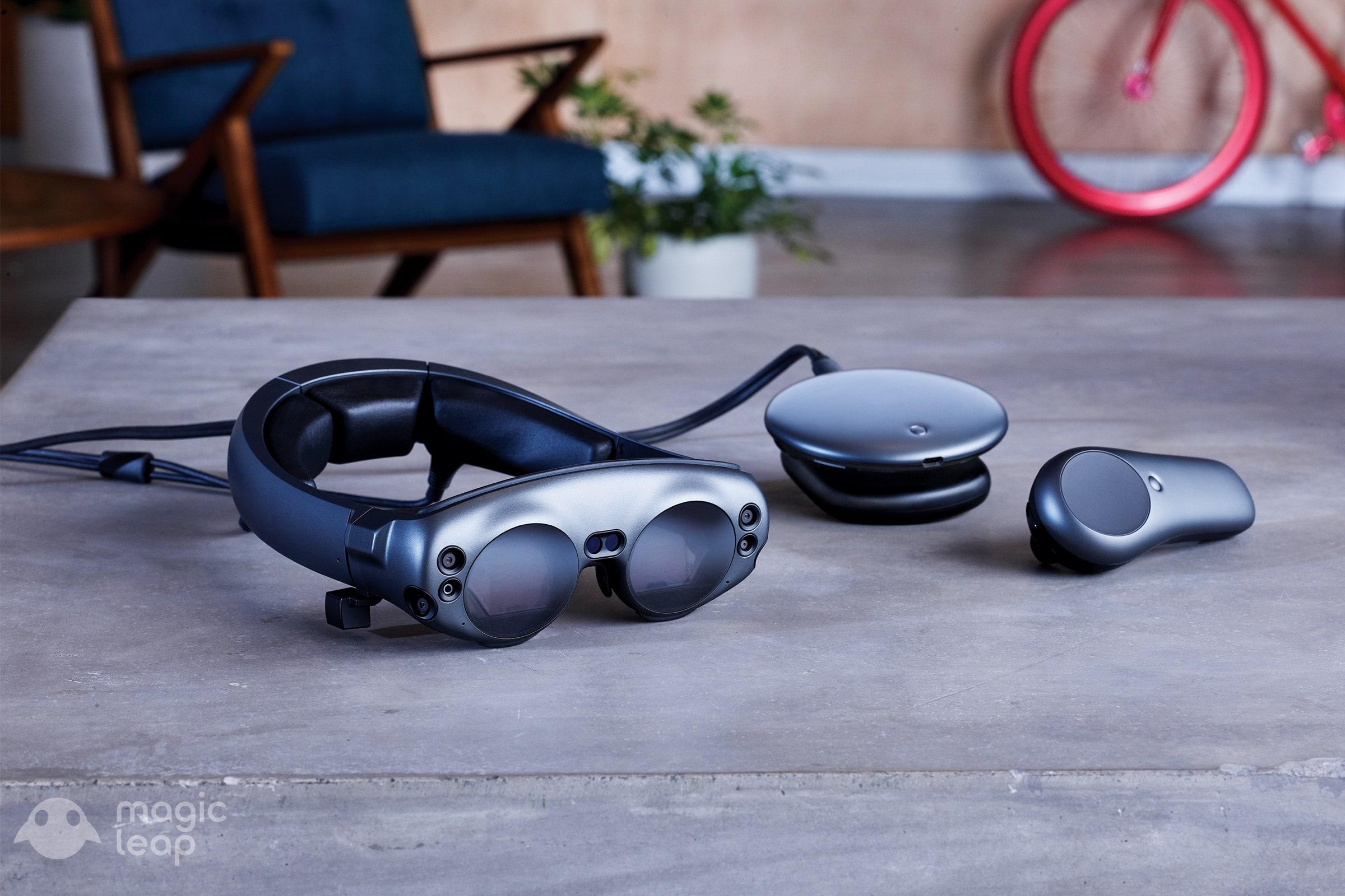 ערכת פיתוח של משקפי המציאות המדומה של חברת מג'יק ליפ. צילום יחצ