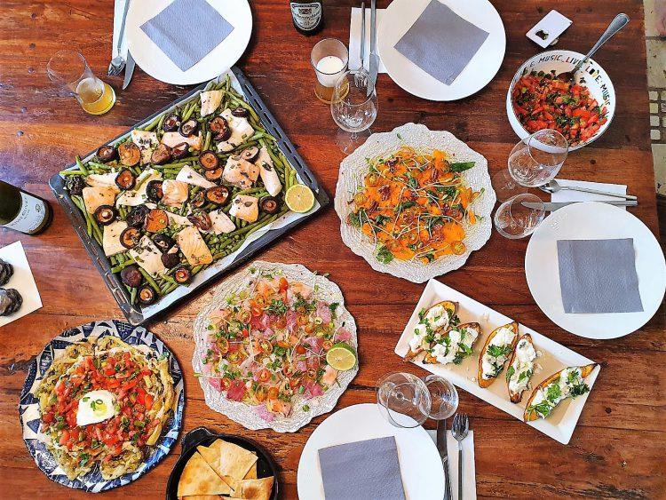 ארוחה לדוגמא שהכין חנן וולף צילום: באדיבותו