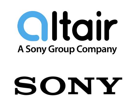 לוגו אלטייר לפני שינוי השם, כחברה בת של סוני. צילום יחצ