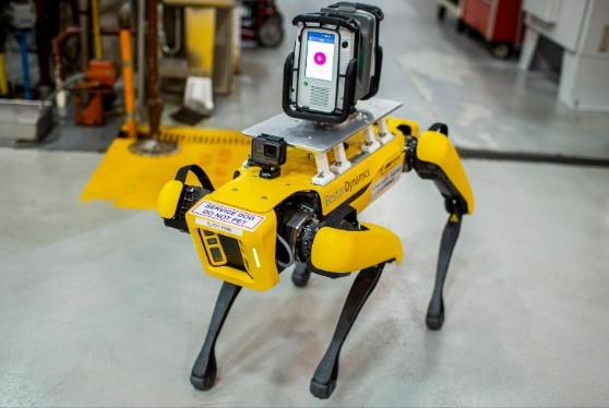 רובוטים שימפו את סביבת העבודה. צילום יחצ פורד