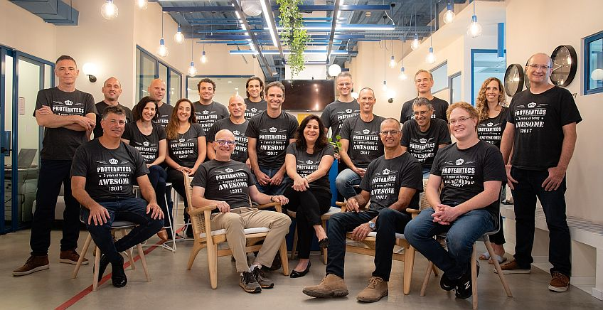 צוות חברת proteantecs. צילום יחצ