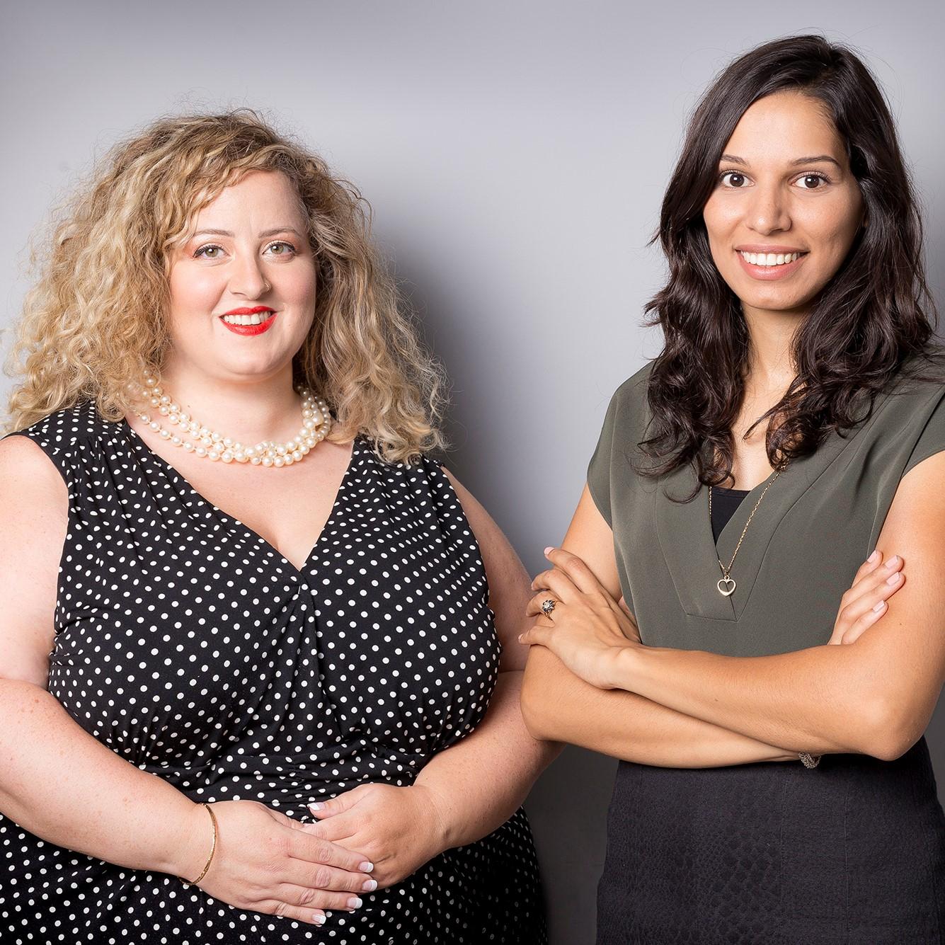 אריאלה רוזן וחולוד עיוטי, מנכ״ליות משותפות בפרזנטנס. צילום: שני נחמיאס