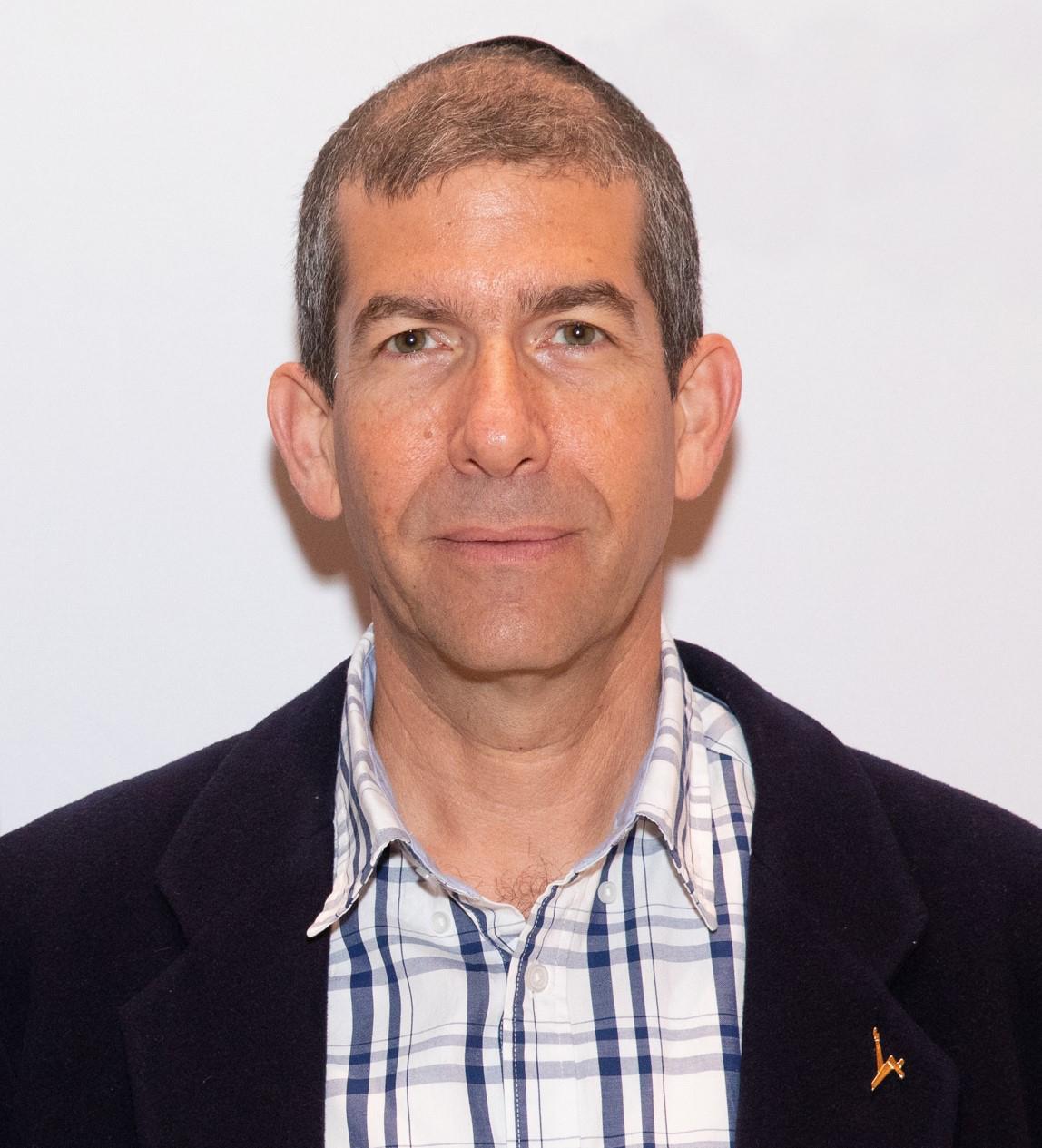 פרופ' חגי איזנברג, האוניברסיטה העברית. צילום באדיבותו