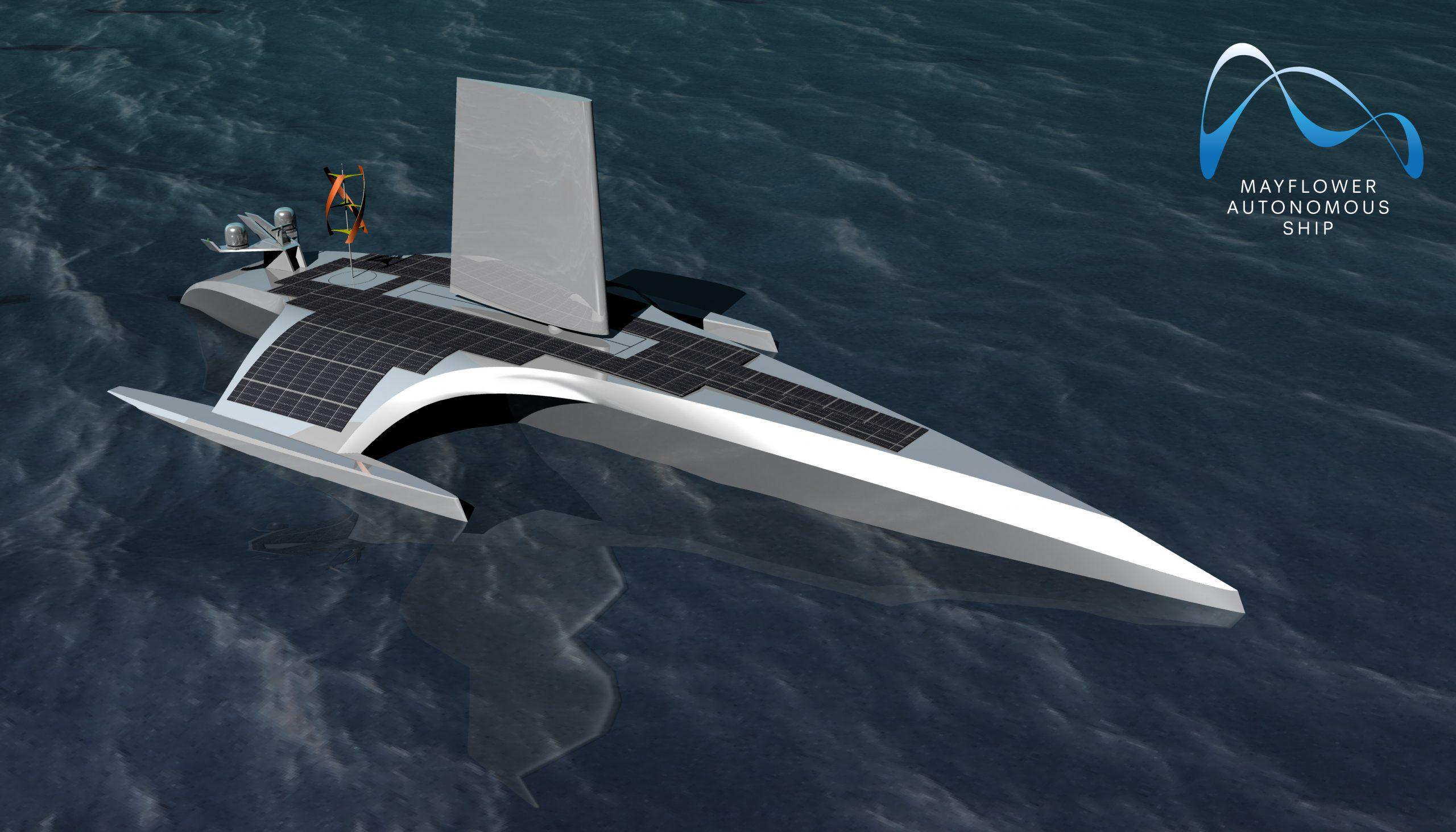 ספינת המחקר האוטונומית מיילפאור. צילום IBM