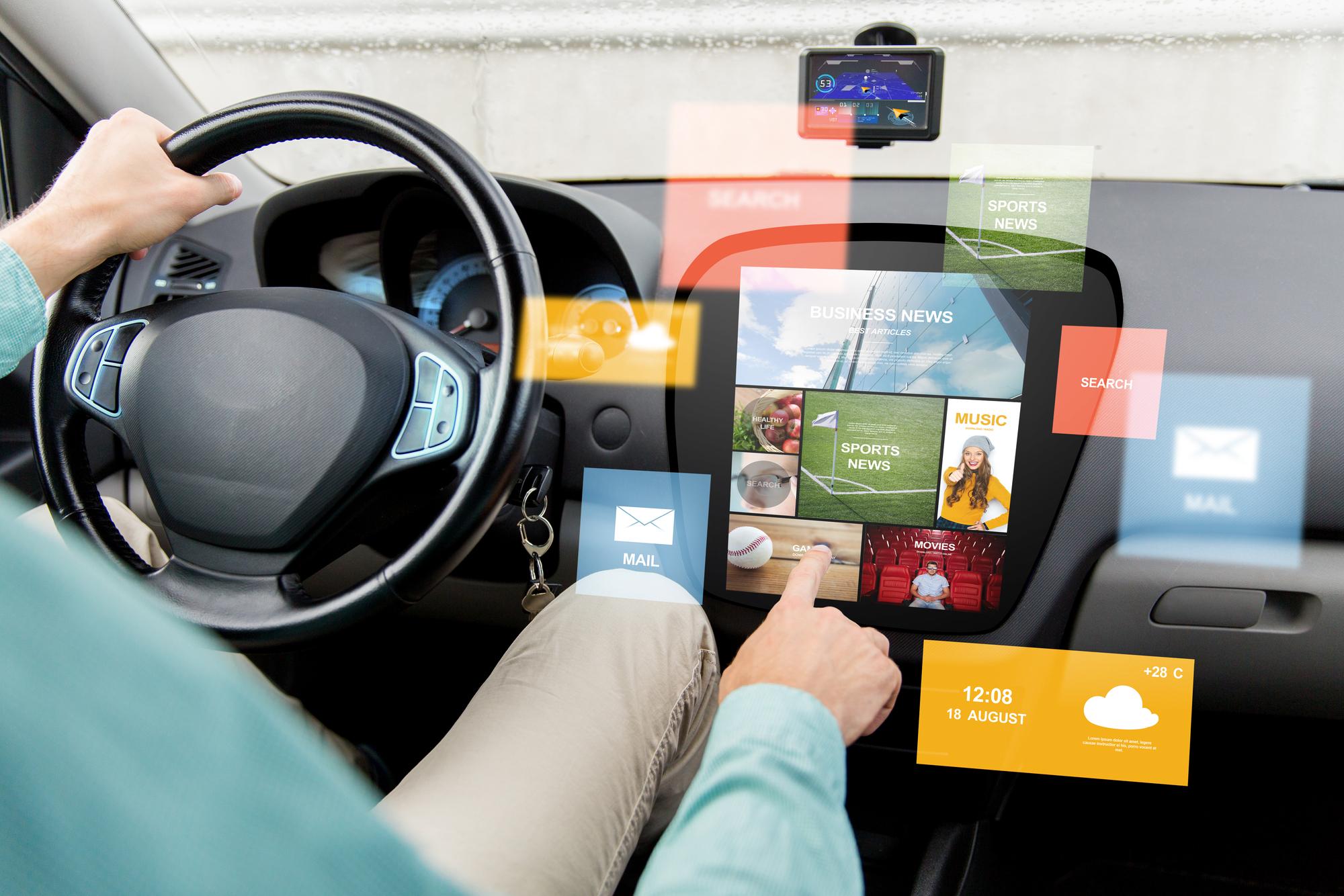 הרכב נעשה מחשב על גלגלים. המחשה: depositphotos.com
