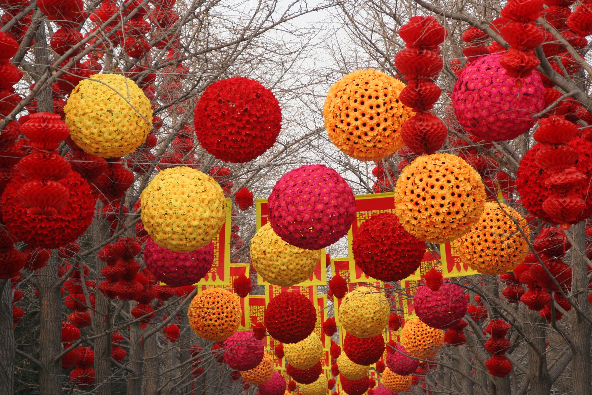 קישוטים לראש השנה הסיני. המחשה: depositphotos.com