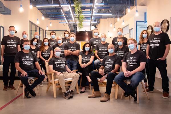 עובדי פרוטאנטקס, 2020. צילום יחצ, מתוך אתר החברה