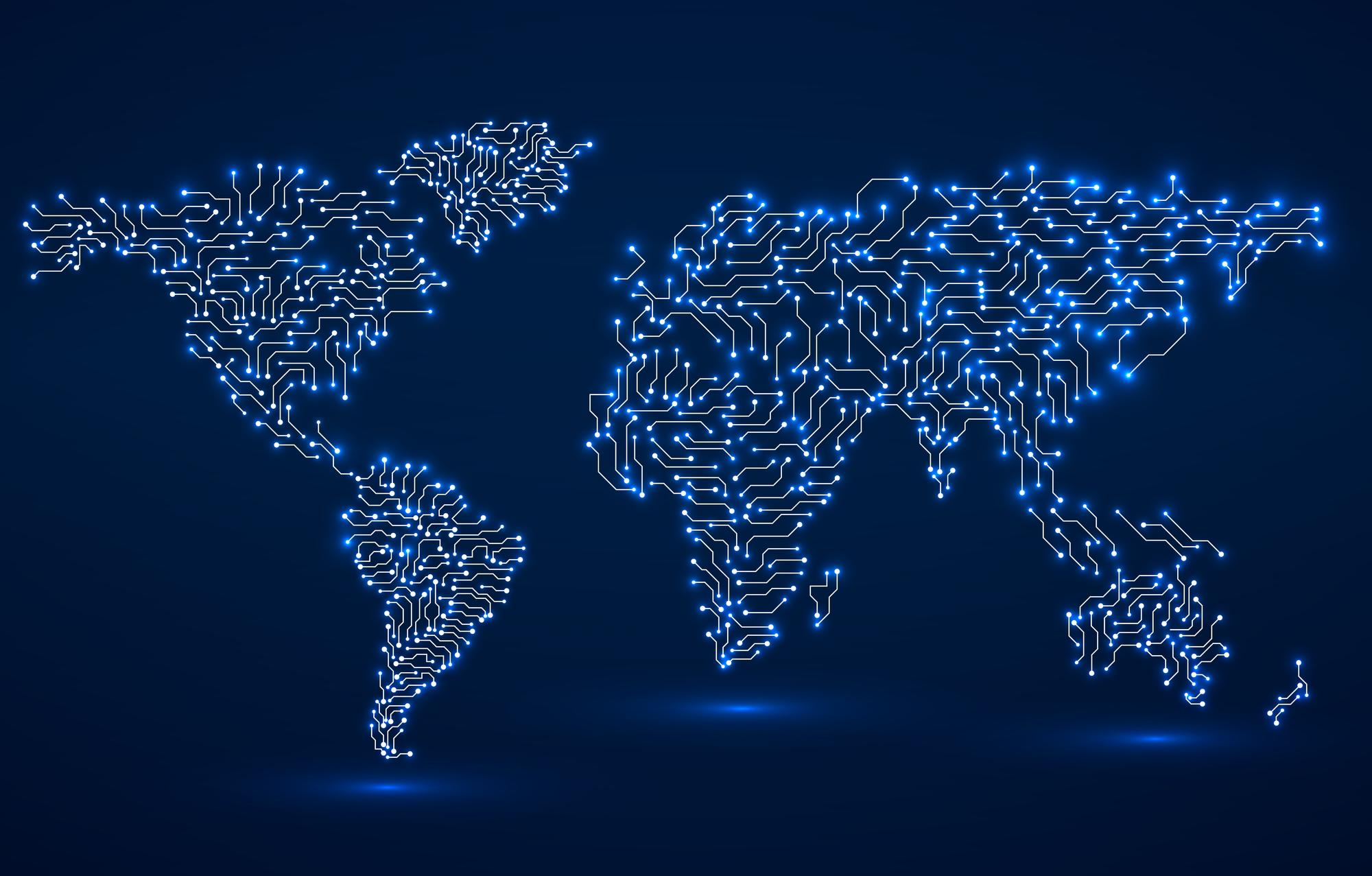 סחר השבבים הבינלאומי. אילוסטרציה: depositphotos.com