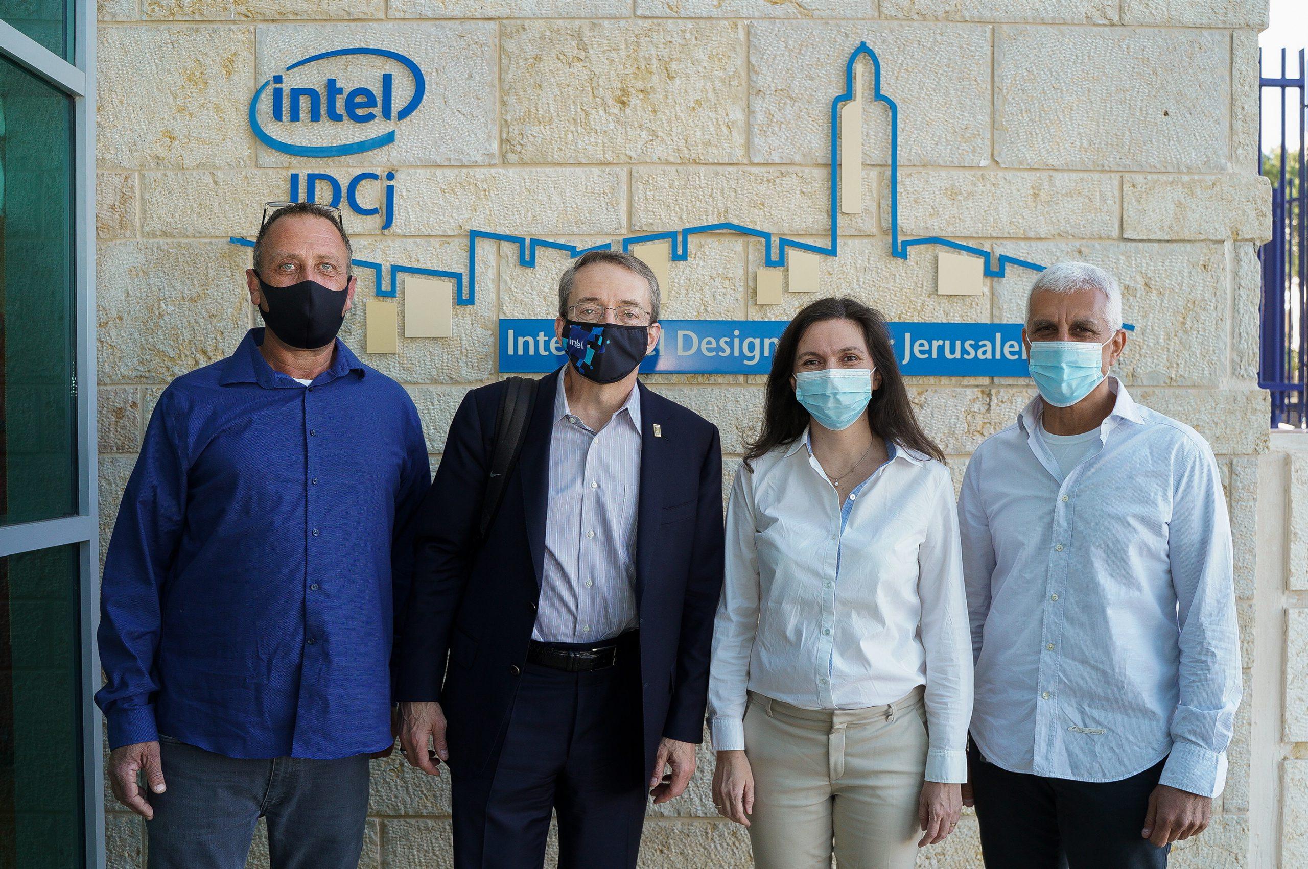 פט גלסינגר וצוות ההנהלה של אינטל ישראל -צוות ההנהלה של אינטל ישראל נפגש היום עם פט גלסינגר, מנכ