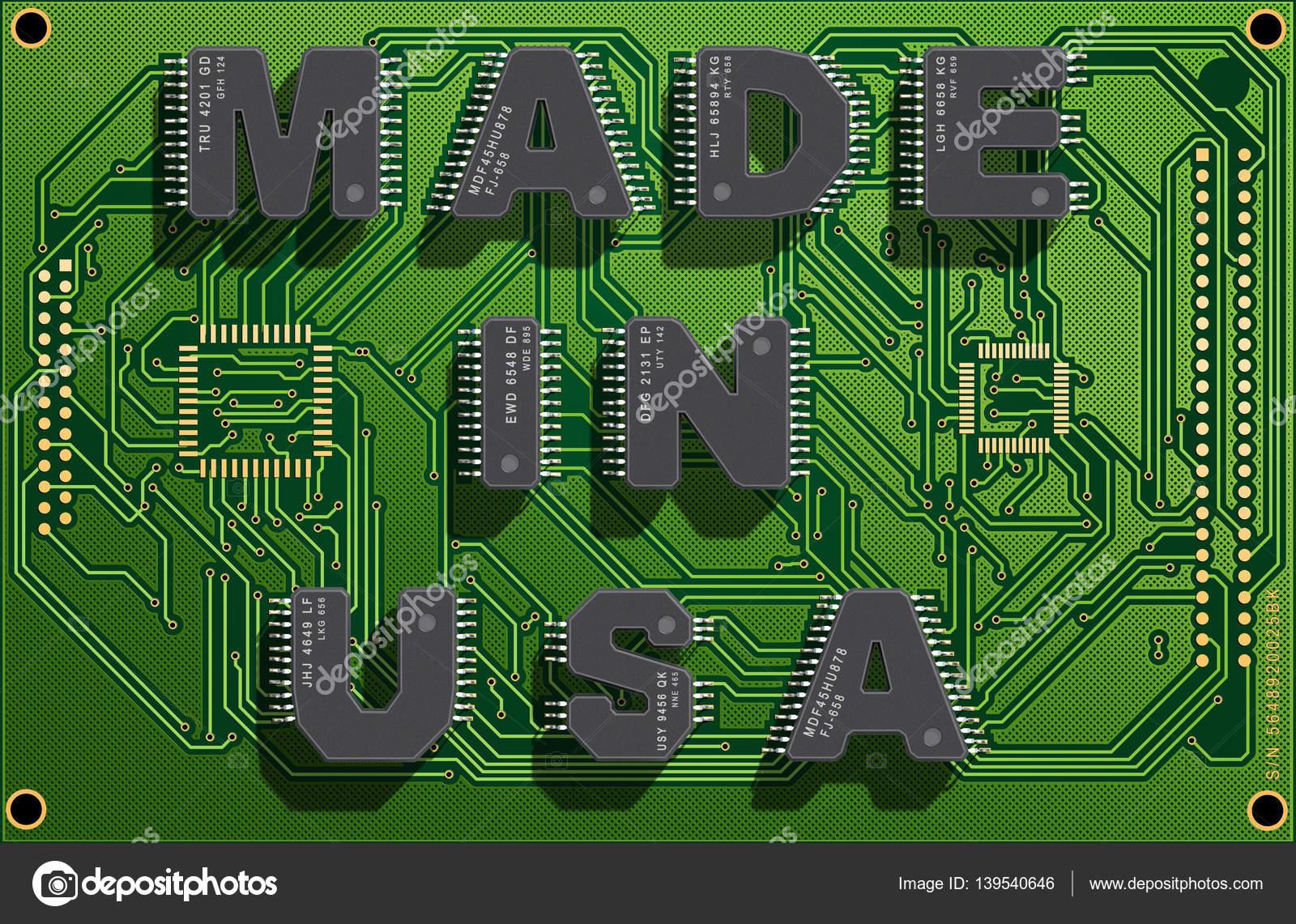 שבבים תוצרת ארה