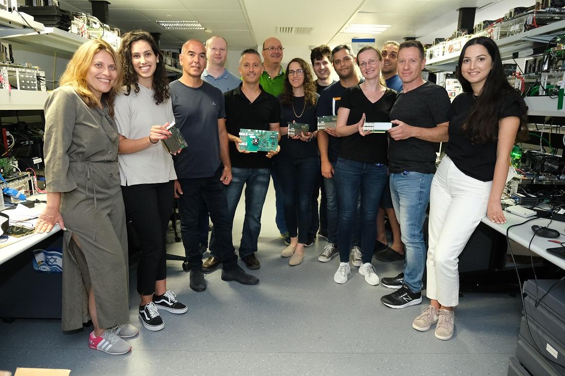 קבוצת פיתוח ה-IPU באינטל ישראל. צילום: אסף פטוקה