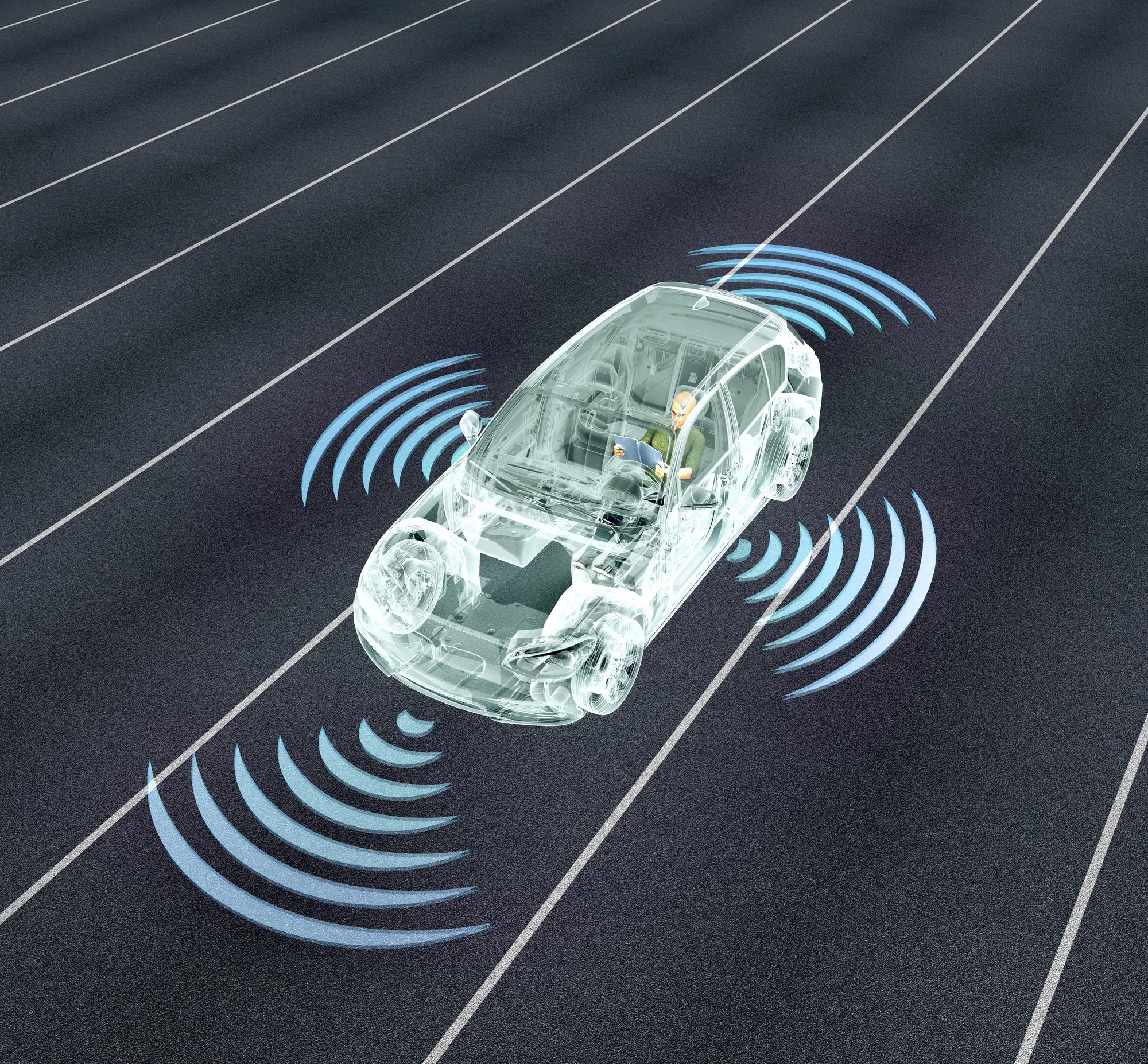 מכונית אוטונומית תכלול מרכז נתונים עצמאי. אילוסטרציה: depositphotos.com
