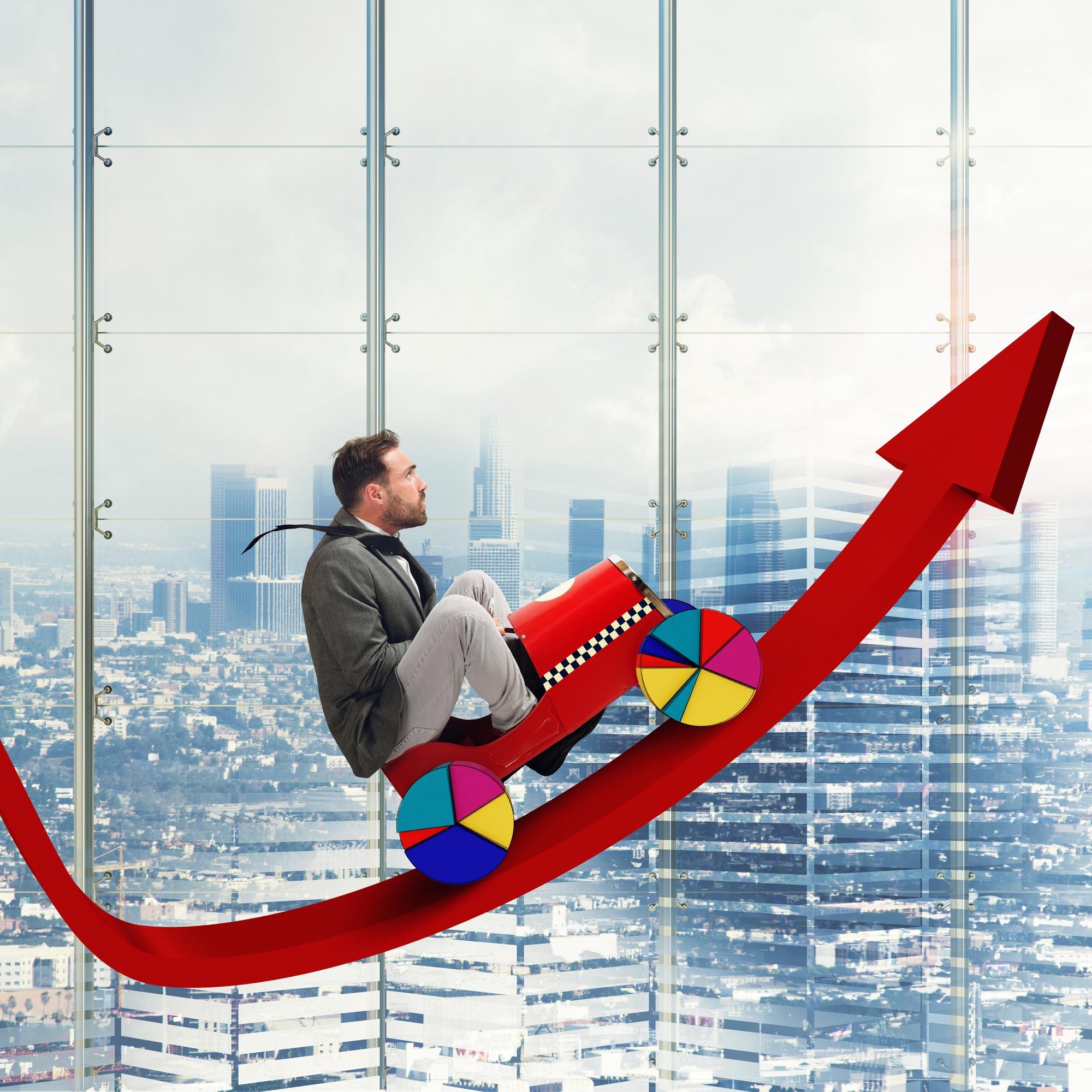 זינוק כלכלי. אילוסטרציה: depositphotos.com