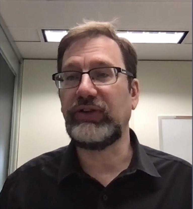 סקוט קראודר, סגן נשיא IBM למיחשוב קוונטי. צילום מסך מתוך ChipEx2021