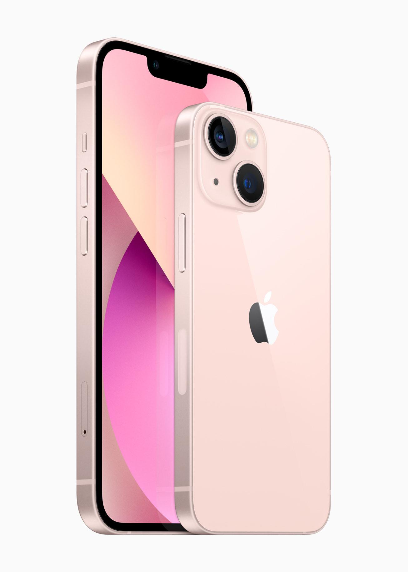 מכשירי אייפון 13 ואייפון 13 מיני. צילום יחצ, אפל
