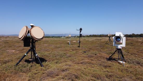 מערכת Drone Dome מותקנת בקרבת מפגש ה-G7 באנגליה בקיץ האחרון. צילום יחצ, רפאל