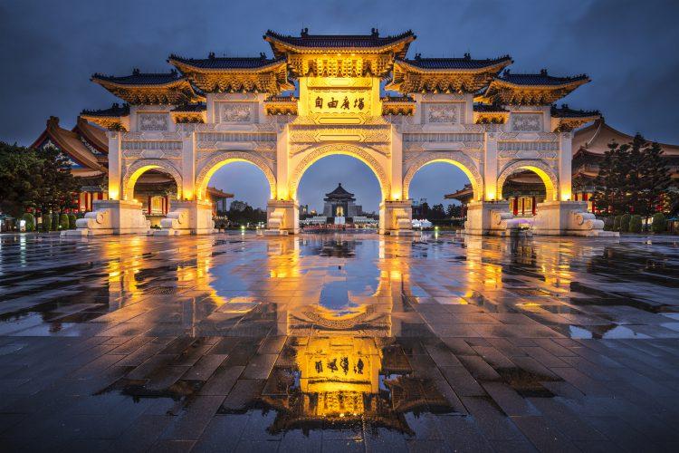 """""""כיכר החירות"""" בטאייפה בירת טאיוואן. אילוסטרציה: depositphotos.comהצלחה. אילוסטרציה: depositphotos.com"""